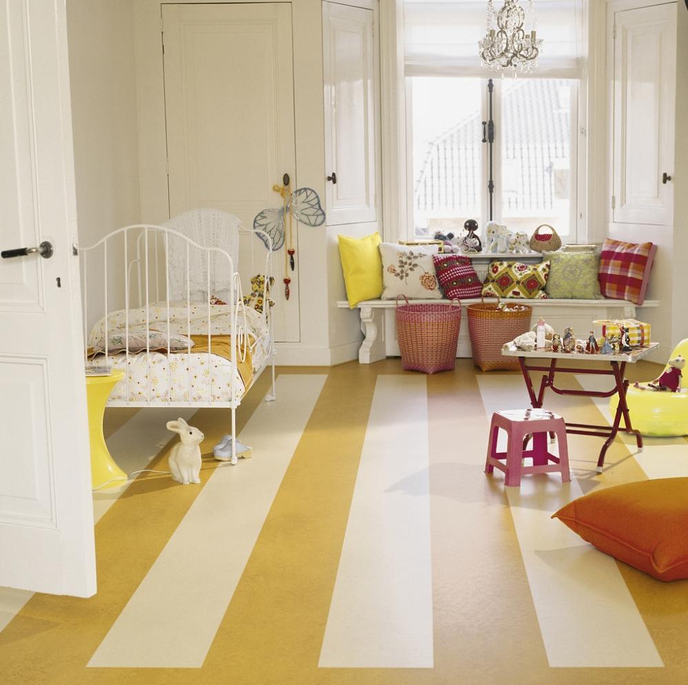 Marmoleum marmoleum praha for Colourful lino flooring