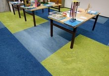 Marmoleum Piano tl. 2,5mm - Nordic blue 3644 2
